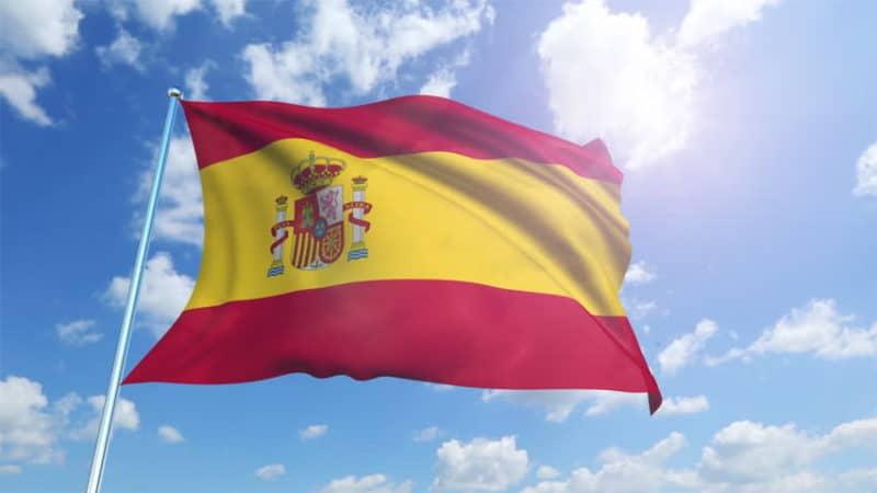 Spanish flag sun